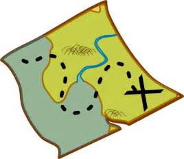 map clipart treasure map clip free vector in open office drawing