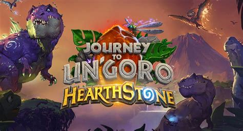 hearthstone giveaway journey to un goro my potato games - Hearthstone Giveaway