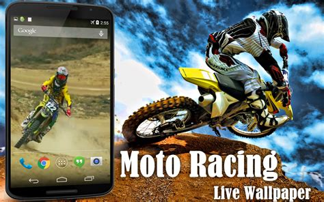 live motocross racing moto racing live wallpaper android apps on play