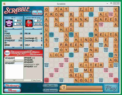 is uni a scrabble word i up with 311 point scrabble word caro