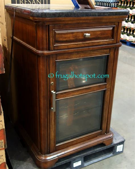 costco wine cabinet granite top costco tresanti 24 bottle wine cooler with granite top