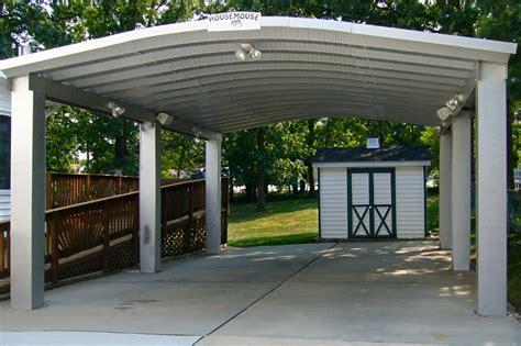 cocheras techadas carports garajes abiertos prefabricados cocheras