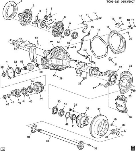 diagram of rear differential 95 ford bronco front axle diagram free image about