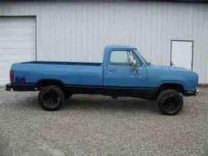 purchase used 1974 dodge w100 4x4 bed pre ram