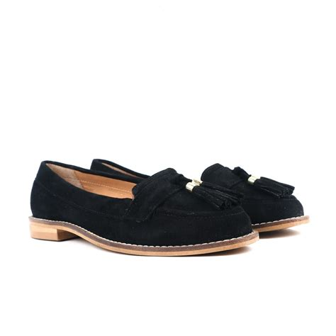 chanel black loafers carlton chanel suede cl6567 s black shoes