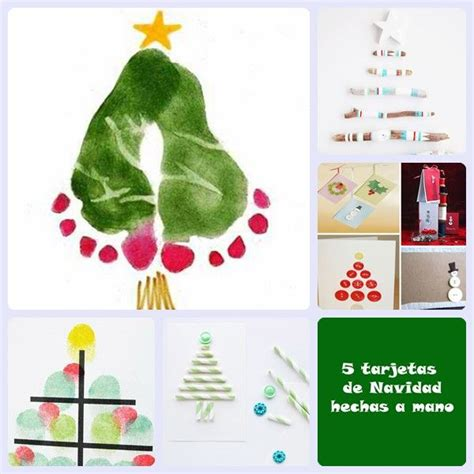 5 manualidades de navidad para ninos 5 tarjetas de navidad hechas a mano tarjeta navide 241 a