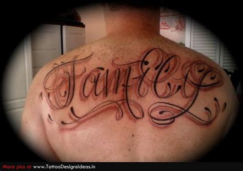 tattoo lettering upper back lettering tattoos and designs page 31