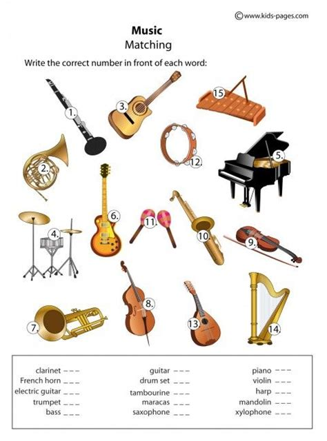 beth s music notes flash cards the beautiful sound of ideas about musical instruments worksheets printable
