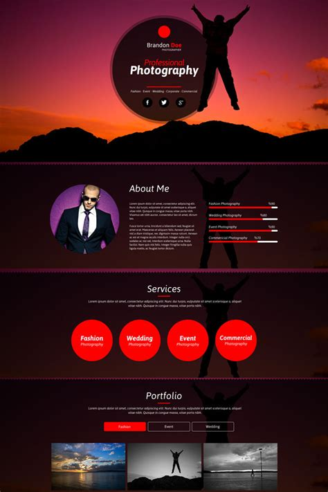 20 creative and best muse templates to