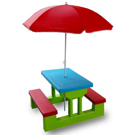 childrens plastic picnic bench little tikes folding plastic picnic table for children