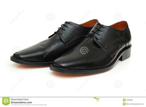 Shoe Unlimited Sr 5003 Black pair of black shoes stock photos image 1608943
