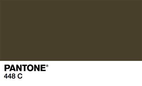 pantone 448 c najbrzydszy kolor świata read i d