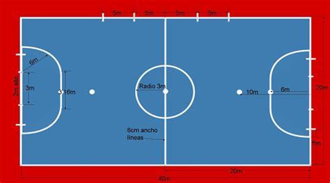 pista futbol sala f 250 tbol sala base quot los espacios en f 218 tbol sala quot
