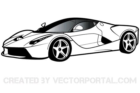 ferrari logo black and white ferrari clipart free 123freevectors