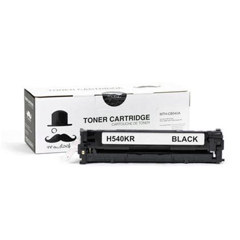 Cartridge Toner Compatible Hp Cb540a 125a Black Printer Hp Cp1215 1515 hp 125a cb540a new compatible black toner cartridge moustache 174 123inkcartridges canada