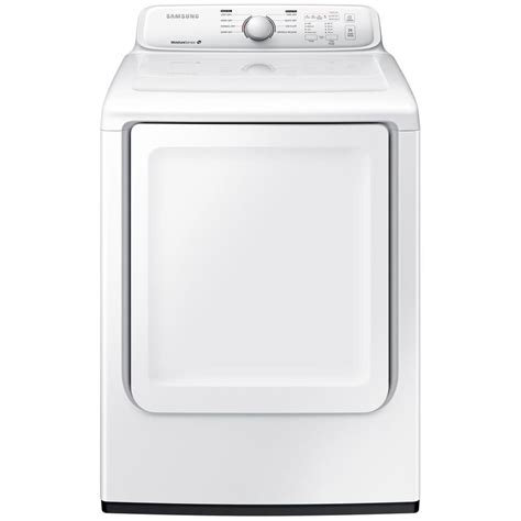 samsung 7 2 cu ft gas dryer in white dv40j3000gw the home depot