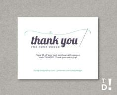 Thank You For Your Purchase Notecard Printable Instant Download Perfectly Buttoned Thanks For Your Order Template