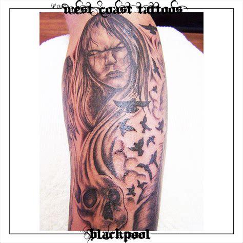 black and grey tattoo west coast tattoos blackpool
