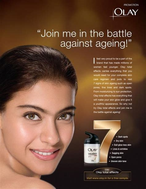 Olay Total Effects 7in1 Anti Ageing kajol s olay anti aging lotion ad pictures extramirchi