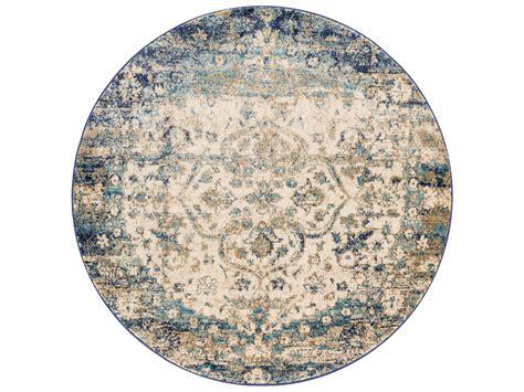blue circle rug loloi rugs af 06 blue ivory area rug llanasaf06bbivrou