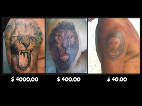 tattoo prices with pictures lustig skurril tattoo bewertung de