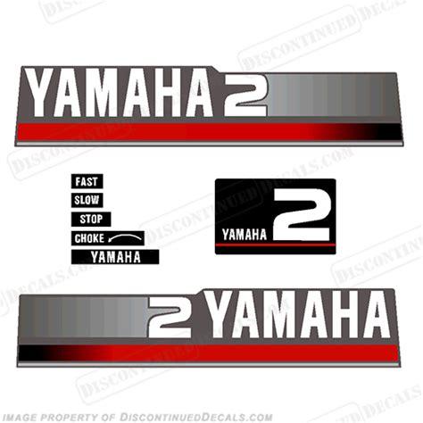 Yamaha Outboard Sticker by Yamaha Decal Kits