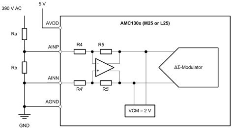 resistor isolation voltage using delta sigma modulators for isolated high voltage measurements precision hub archives