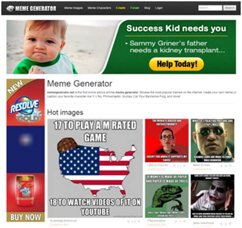 Meme Generator Website - 5 tools you should use to spice up your content marketing
