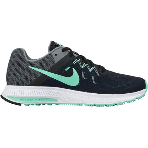 Nike Zoom For 2 green black womens nike zoom winflo 2 shoes