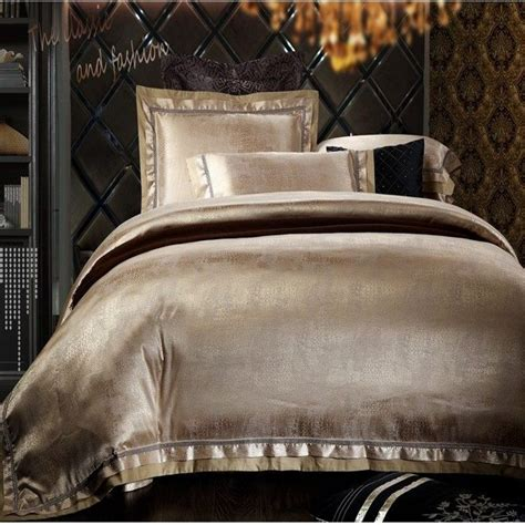 silk comforter king aliexpress com buy 6pcs jacquard home textile luxury