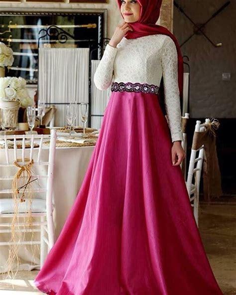 Gamis Longdress Terusan Panjang Muslim Burma 13 model baju muslim modern 2017 yang lagi trend
