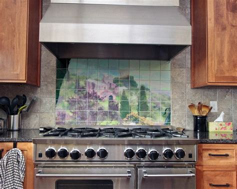 ceramic tile murals for kitchen backsplash 41 best kitchen backsplash tile murals with art and