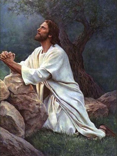 imagenes de jesus orando en el monte los olivos thy will be done jesus prayer in gethsemane stepping