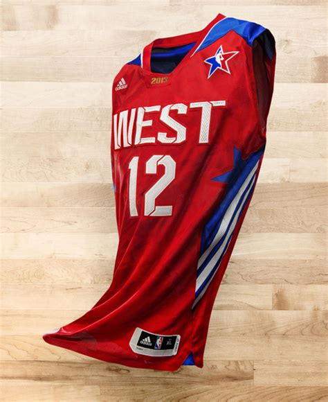 T Shirt Kaos Basket Nba All West Time Curry 30 adidas unveils 2013 nba all uniforms weartesters