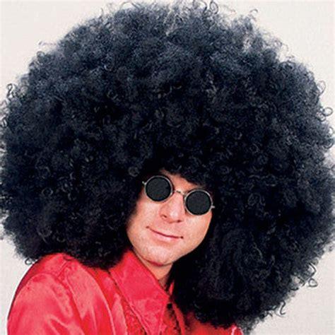 Jimmy Black afro wig mega gaint jimmy black 70s disco