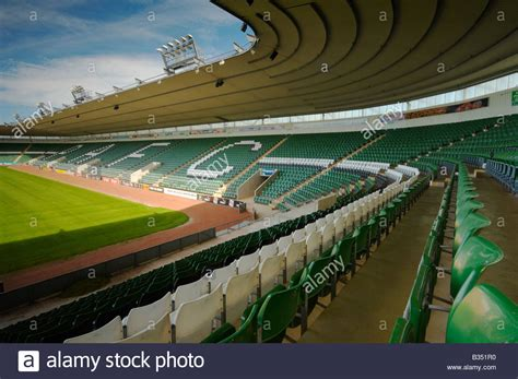 plymouth cgrounds plymouth argyle football ground home park uk stock