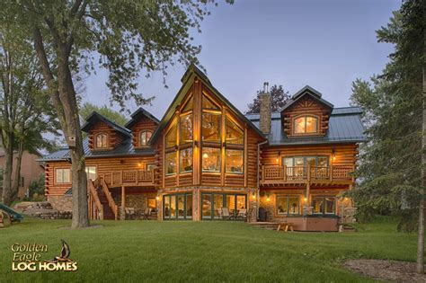 golden home golden eagle log and timber homes log home cabin pictures photos lakehouse 4166al