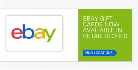 Ebay Gift Card To Cash - ebay gift cards are back check your local stores ways to save money when shopping