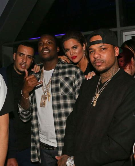 chinx ex wife khloe kardashian poses with french montana and fuels
