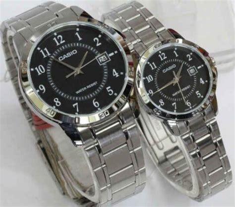 Casio Ori Silver jam tangan casio mltp v004d rantai silver original