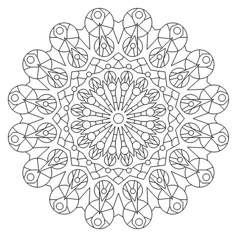 kaleidoscope coloring pages for adults 17 best images about kaleidoscope on dovers