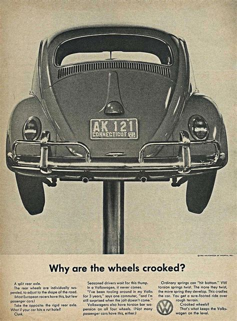 Chappaquiddick Vw Ad 43 Best Vw Ads Images On Vw Beetles Advertising And Vintage Ads