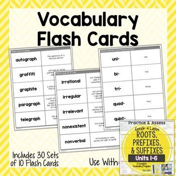 And Roots Flashcards Printable