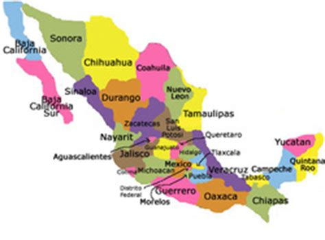 regions geo mexico the geography of mexico regions of mexico map