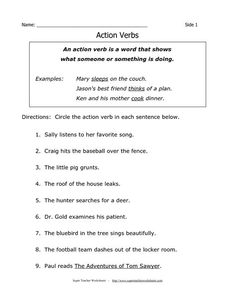 printable grammar worksheets printable worksheet for grade 4 english our 3 favorite
