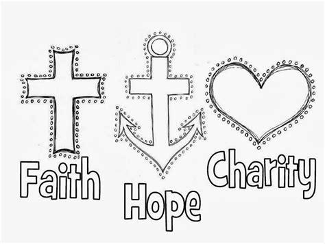 faith hope  charity faith hope love symbol love