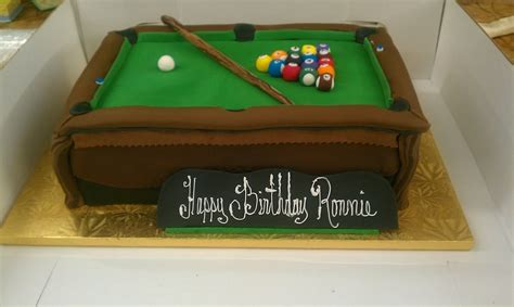 pool table cakes pool table cake cakecentral