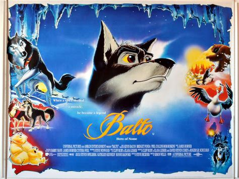 Poster Anime Poster The Legend Of Kin 1 balto of nome original cinema poster from