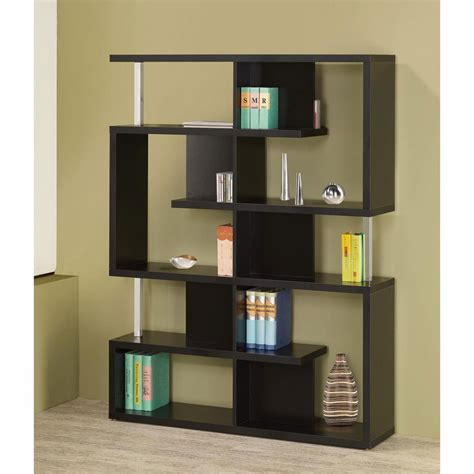 modern bookcase black