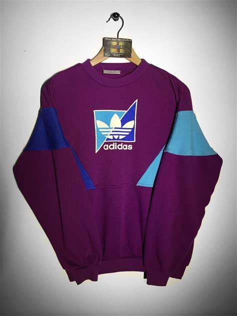 Hoodie Sweater Nf Front Logo adidas sweatshirt size small 163 36 website www retroreflex uk adidas vintage retro oldschool